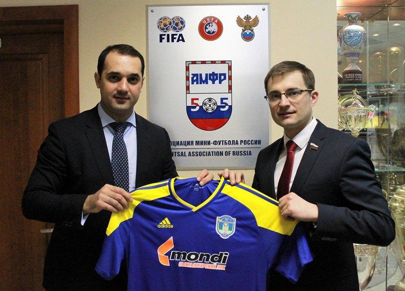 Обсудили развитие мини-футбола Коми