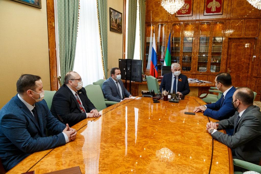 Рабочий визит в республиканскую столицу делегации Ассоциации мини-футбола России