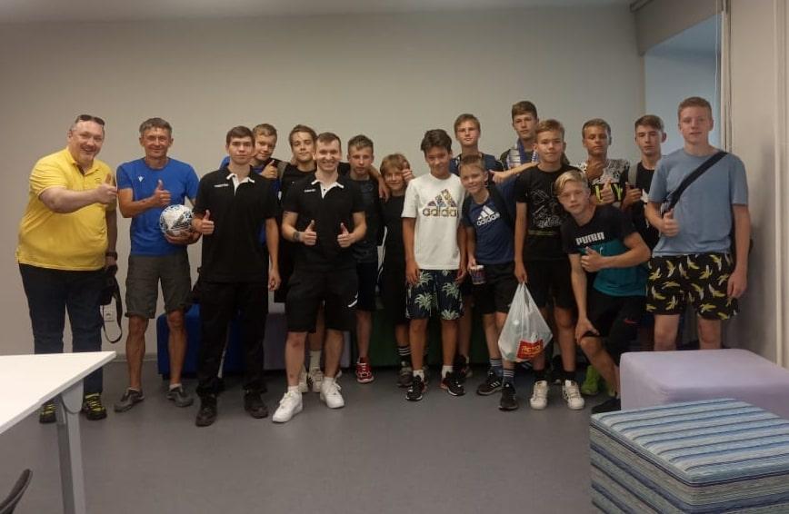 Встреча со сборной Коми (U14)